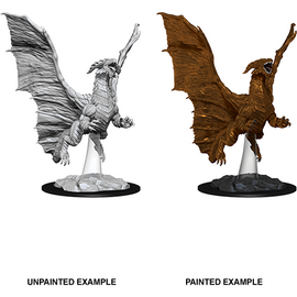 Dungeons & Dragons Nolzur's Marvelous Miniatures - Young Copper Dragon
