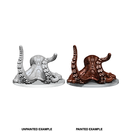 Wizkids Deep Cuts Unpainted Miniatures - Giant Octopus