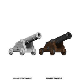 Wizkids Deep Cuts Unpainted Miniatures - Cannons