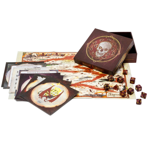 Dungeon's & Dragons - Descent Into Avernus Dice Set & Miscellany