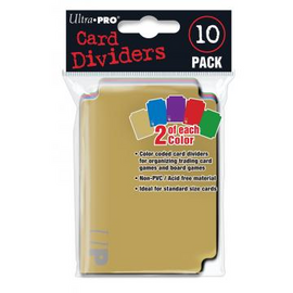 Ultra Pro Card Dividers - 10 pack