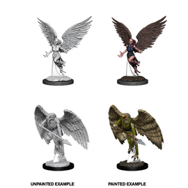 Dungeons & Dragons Nolzur's Marvelous Miniatures - Harpy and Aarakocra
