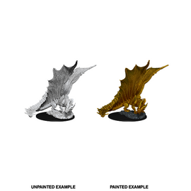 Dungeons & Dragons Nolzur's Marvelous Miniatures - Young Gold Dragon