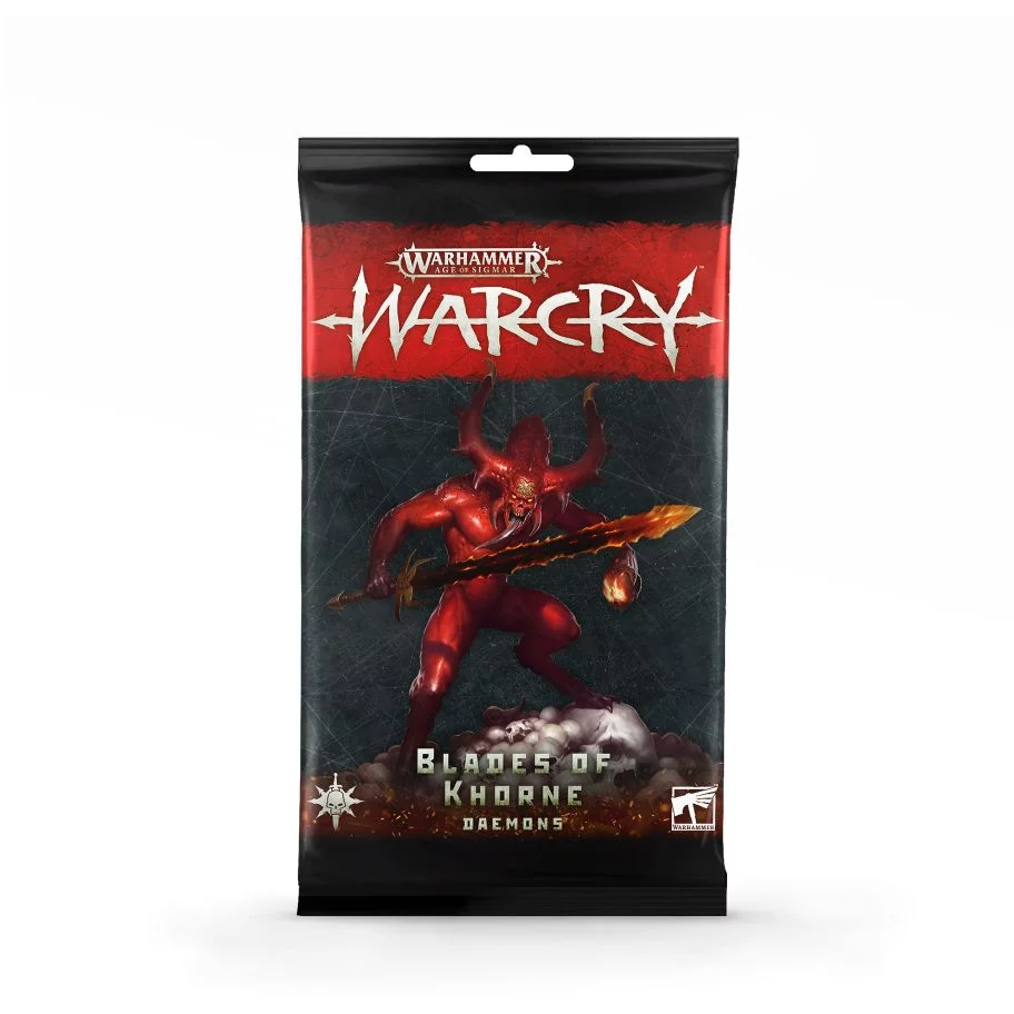 Age of Sigmar: Warcry - Blades of Khorne Daemons Cards