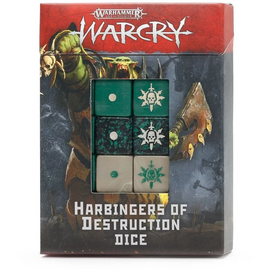 Age of Sigmar: Warcry - Harbingers of Destruction Dice Set