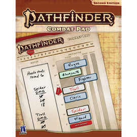 Pathfinder 2nd Edition: Combat Pad