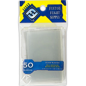 Fantasy Flight Card Sleeves - Mini American - 50 Pack product-item1