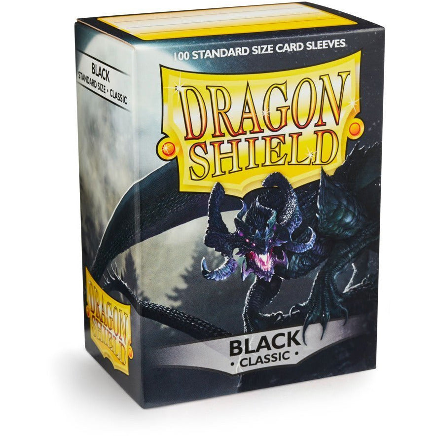 Dragon Shield Sleeves - Black (100pk)