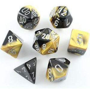 Gemini Black-Gold w/ Silver - 7 Die Set - CHX 26451