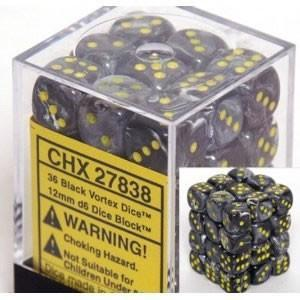 Vortex 12mm D6 Black/Yellow (36) - CHX27838