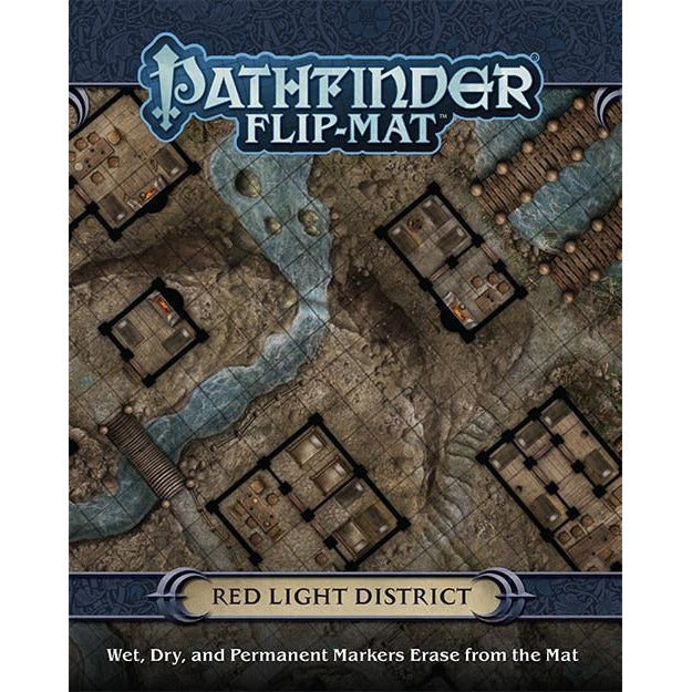 Pathfinder Flip-Mat: Red Light District