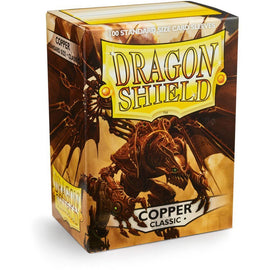 Dragon Shield Sleeves - Copper (100pk)