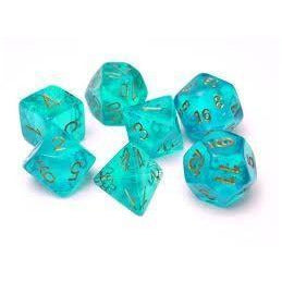 Borealis Teal w/Gold - 7 Die Set