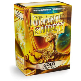 Dragon Shield Sleeves - Gold (100pk)