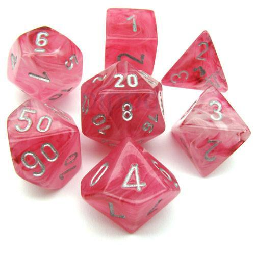 Ghostly Glow Pink w/ Silver - 7 Die Set