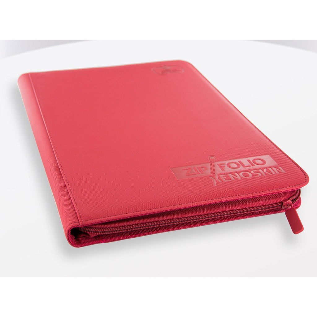 Ultimate Guard - Zipfolio Xenoskin/Red - 9 Pocket