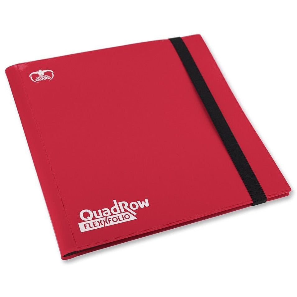 Folder Ultimate Guard 12-Pocket QuadRow FlexXfolio Red