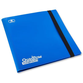 Folder Ultimate Guard 12-Pocket QuadRow FlexXfolio Blue