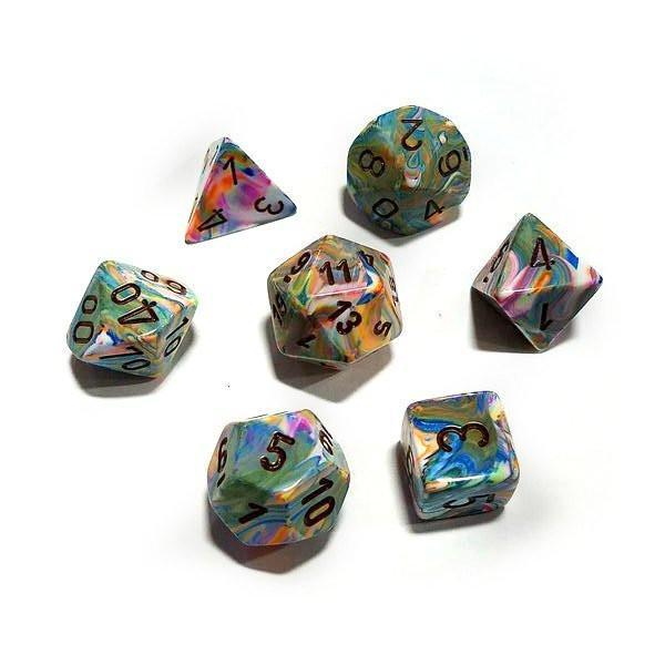 Festive Vibrant w/ Brown - 7 Die Set