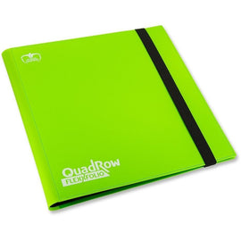 Folder Ultimate Guard 12-Pocket QuadRow FlexXfolio Light Green