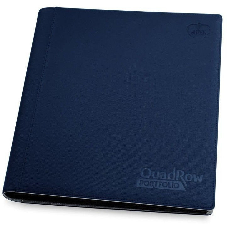 Folder Ultimate Guard 12-Pocket QuadRow Portfolio XenoSkin Dark Blue