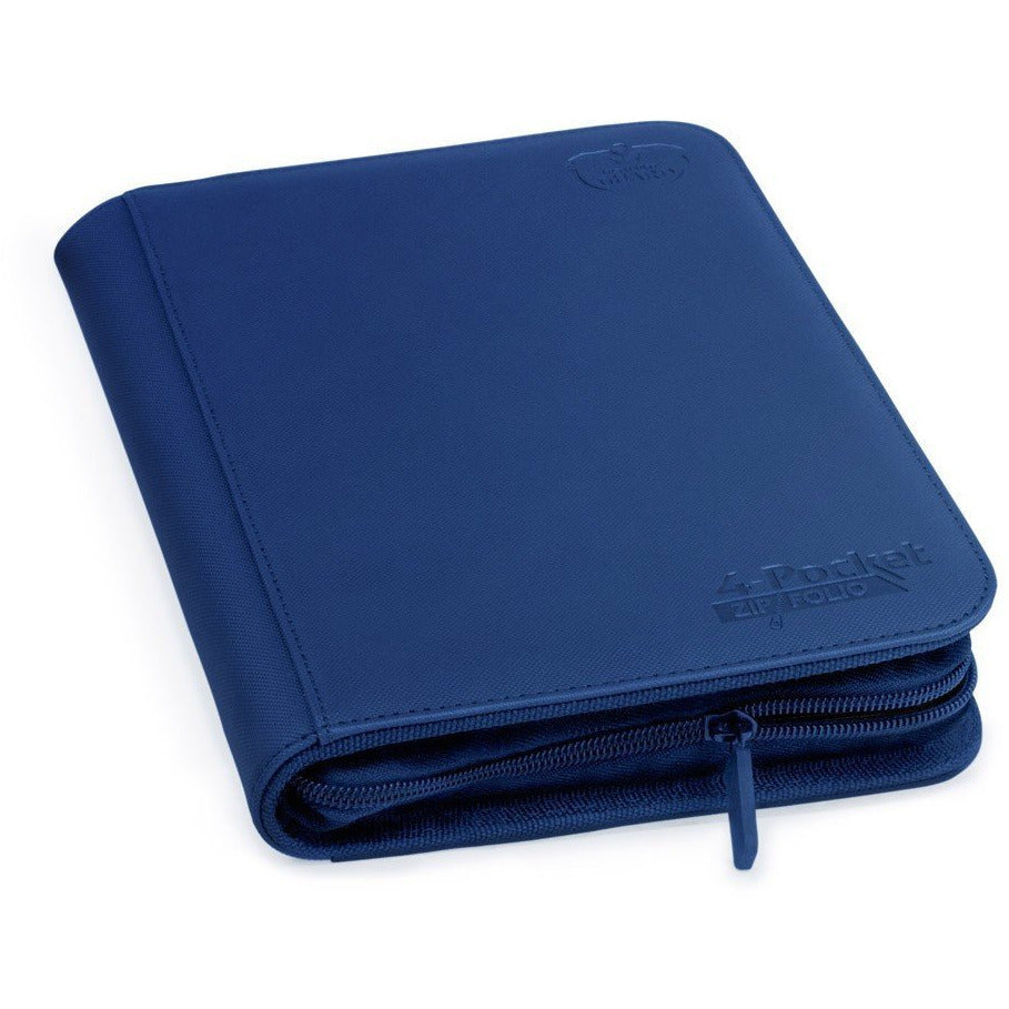 Folder Ultimate Guard 4-Pocket Zipfolio XenoSkin Dark Blue