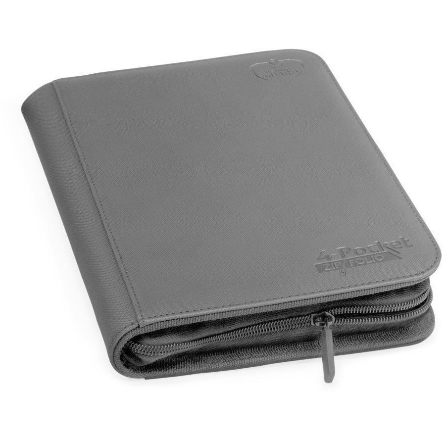 Folder Ultimate Guard 4-Pocket Zipfolio XenoSkin Grey