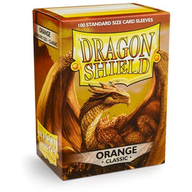 Dragon Shield Sleeves - Orange (100pk)