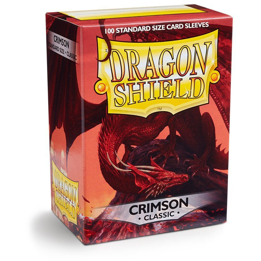 Dragon Shield Sleeves - Crimson (100pk)
