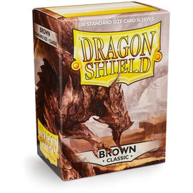 Dragon Shield Sleeves - Brown (100pk)