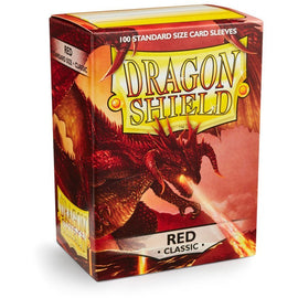 Dragon Shield Sleeves - Red (100pk)