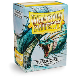 Dragon Shield Sleeves - Turquoise (100pk)
