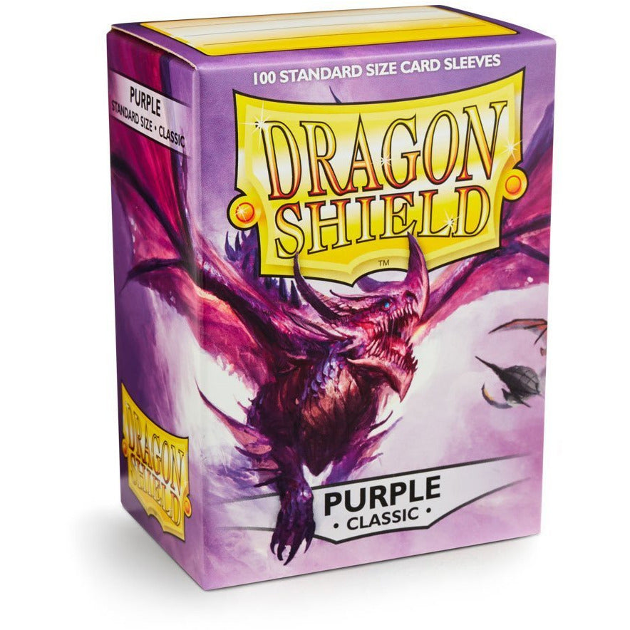 Dragon Shield Sleeves - Purple (100pk)