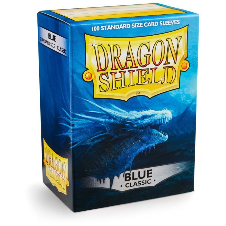 Dragon Shield Sleeves - Blue (100pk)
