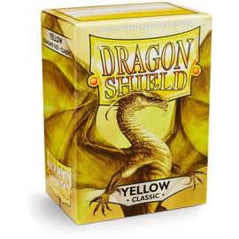 Dragon Shield Sleeves - Yellow (100pk)