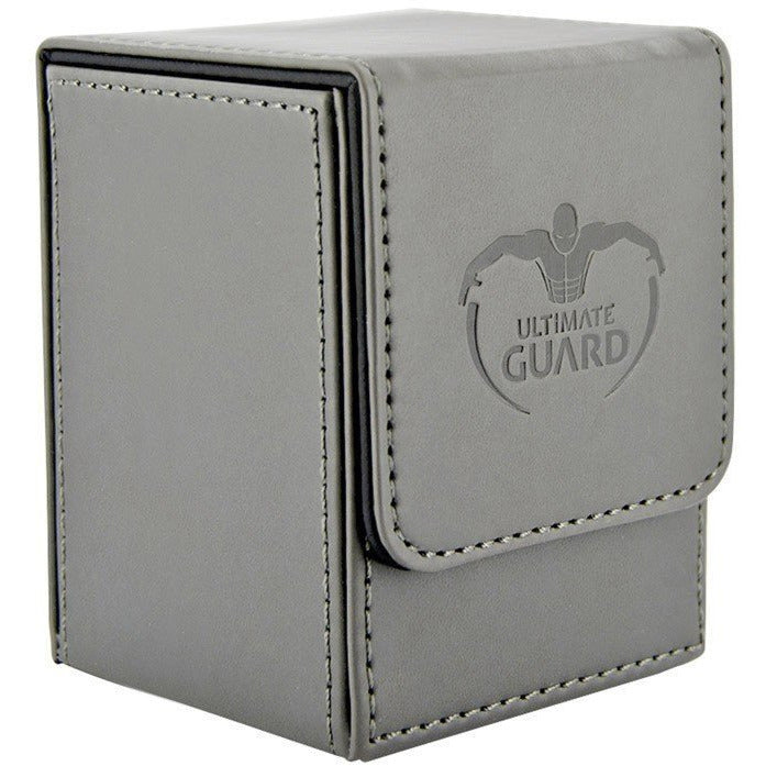 Flip Deck Case 100+ Leatherette- Grey