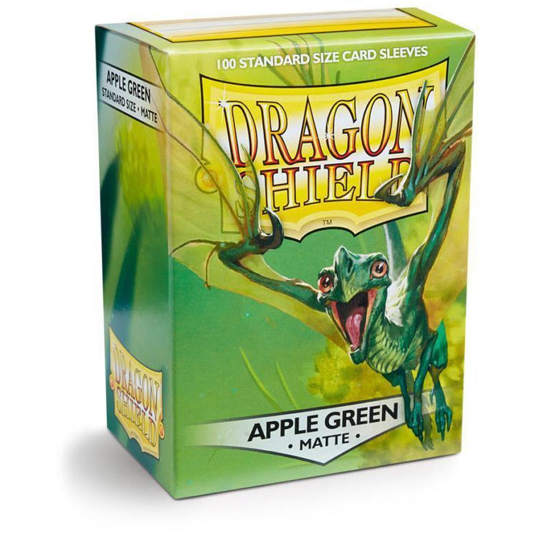 Dragon Shield Sleeves Matte - Apple Green (100pk)