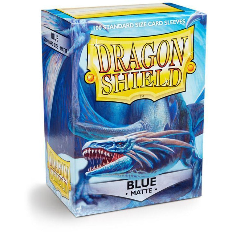 Dragon Shield Sleeves Matte - Blue (100pk)
