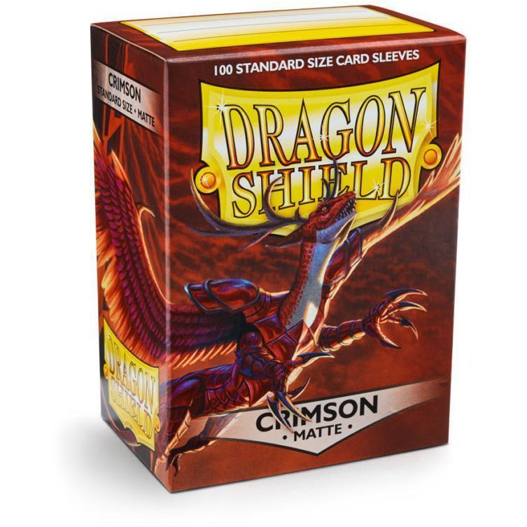 Dragon Shield Sleeves Matte - Crimson (100pk)