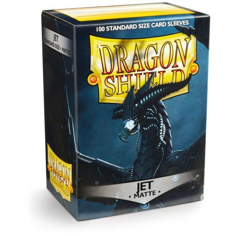 Dragon Shield Sleeves Matte - Jet (100pk)