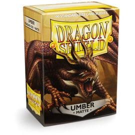 Dragon Shield Sleeves Matte - Umber (100pk)