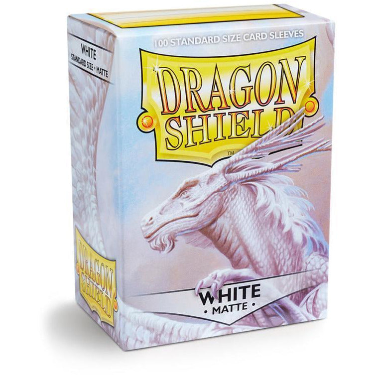 Dragon Shield Sleeves Matte - White (100pk)