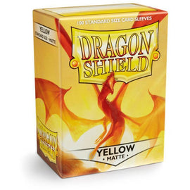 Dragon Shield Sleeves Matte - Yellow (100pk)