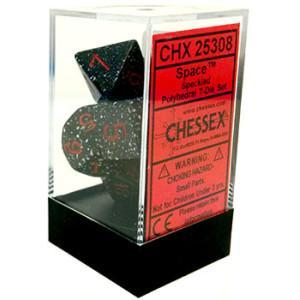 Space Poly 7-dice Cube (CHX25308)