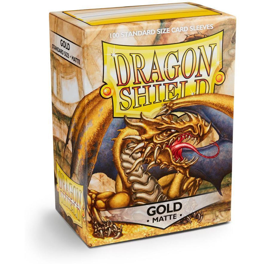 Dragon Shield Sleeves Matte - Gold (100pk)