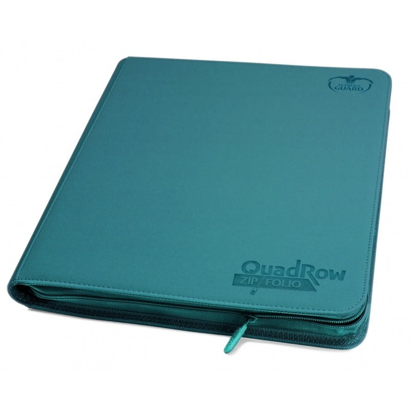 Folder Ultimate Guard 12-Pocket QuadRow ZipFolio XenoSkin Petrol