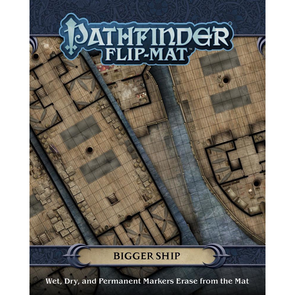 Pathfinder Flip Mat: Bigger Ship