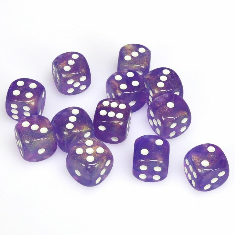 Borealis 16mm D6 Purple/White (12) - CHX27607