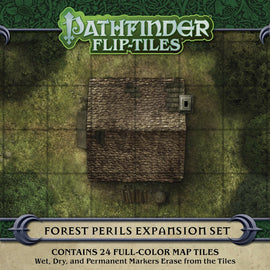 Pathfinder Flip Tiles Forest Perils Expansion