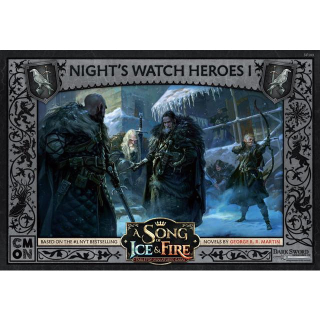 ASoIaF Miniatures Game - Nights Watch Heroes #1